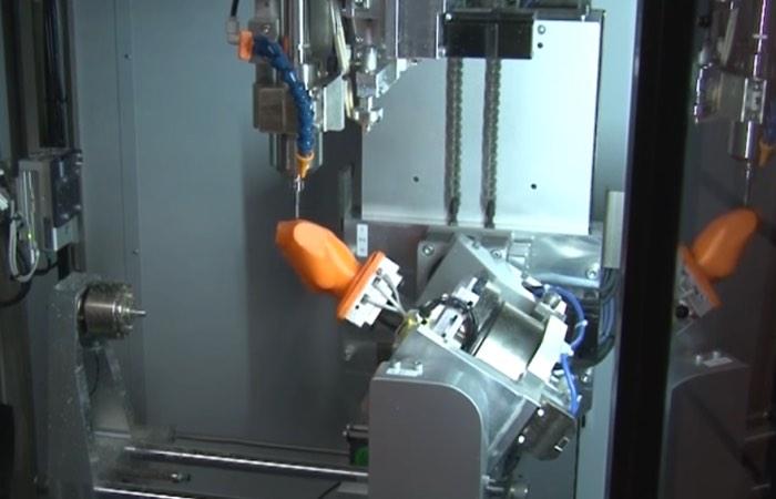 5-axis Hybrid 3D Printer