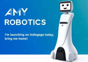 AMY A1 Personal Robot Assistant Launches Via Indiegogo From $999 (video)
