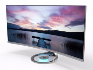 ASUS Designo Curve MX34VQ, UWQHD 34 Inch Curved Monitor Unveiled