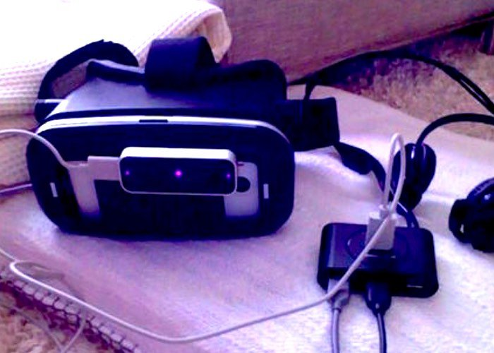 DIY Steam VR Headset