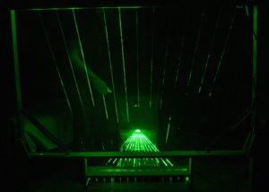 Arduino 13 Note Midi Laser Harp (video)