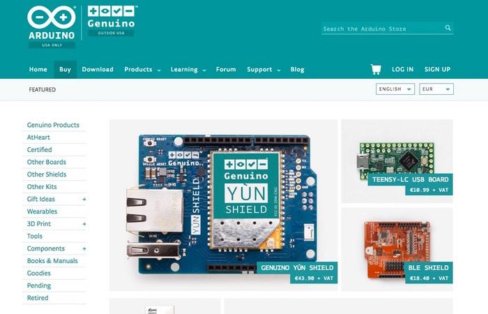 Arduino Create Store