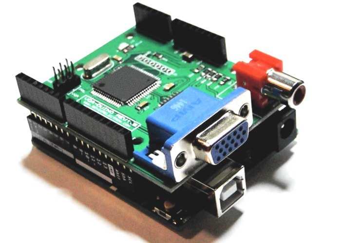 Arduino VGA shield