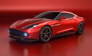 Aston Martin Vanquish Zagato Concept Announced