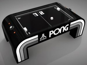 Awesome Pong Tabletop Game Created By Daniel Perdomo (video)