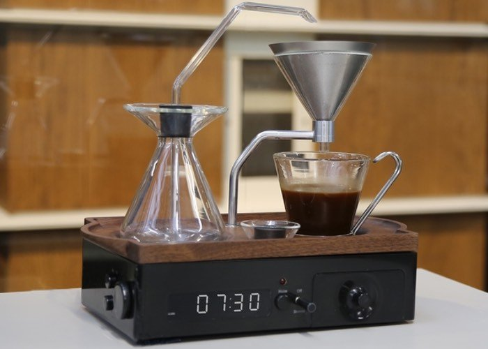 Barisieur Coffee Alarm Clock Uses Induction Heating To Create The Perfect Coffee - Geeky Gadgets