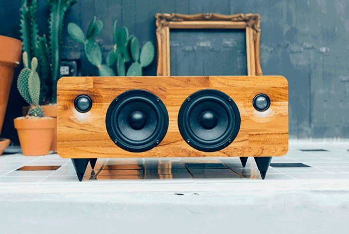 Bluetooth Wooden Speaker