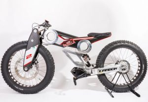 Carbon SUV E-bike Designed By Moto Parilla (video)