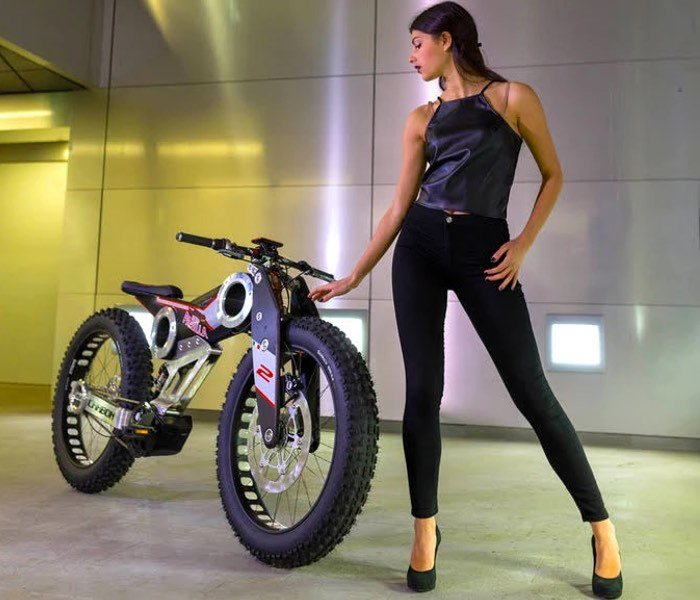 Carbon SUV e-bike