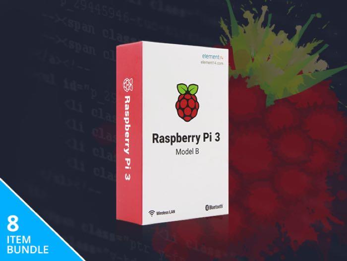 Complete Raspberry Pi 3 Starter Kit