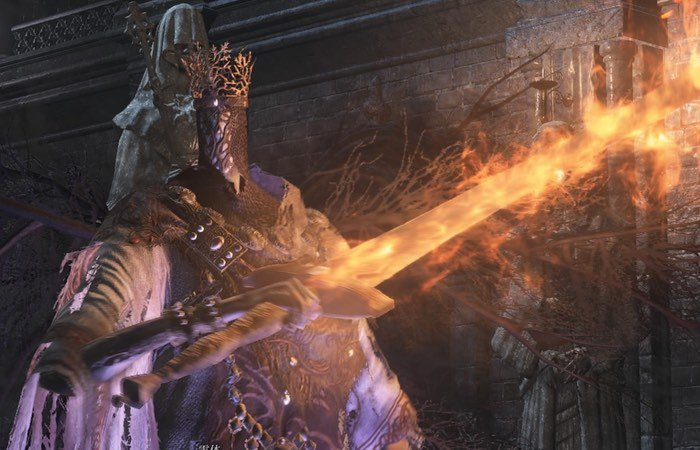 Dark Souls 3 Boss Pontiff Sulyvahn Defeated In One Hit