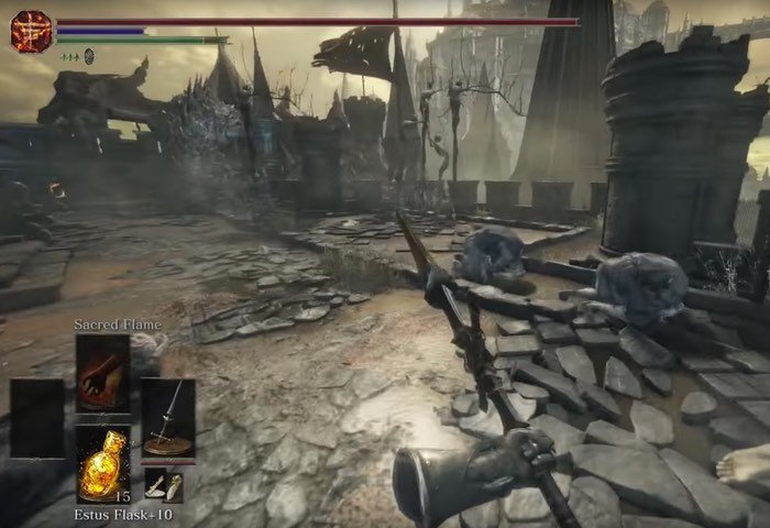 Dark Souls 3 First Person Mode