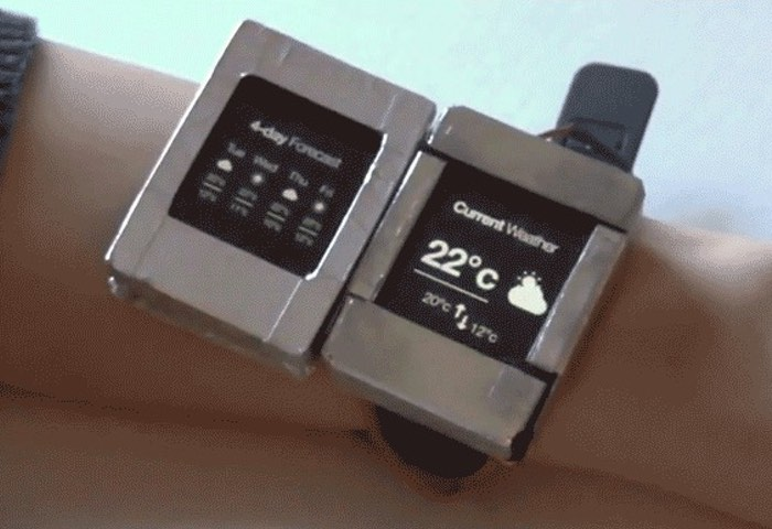 Dual Screen Smartwatch