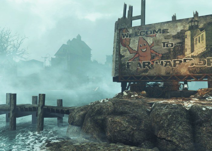 Fallout 4 Far Harbor Official Trailer