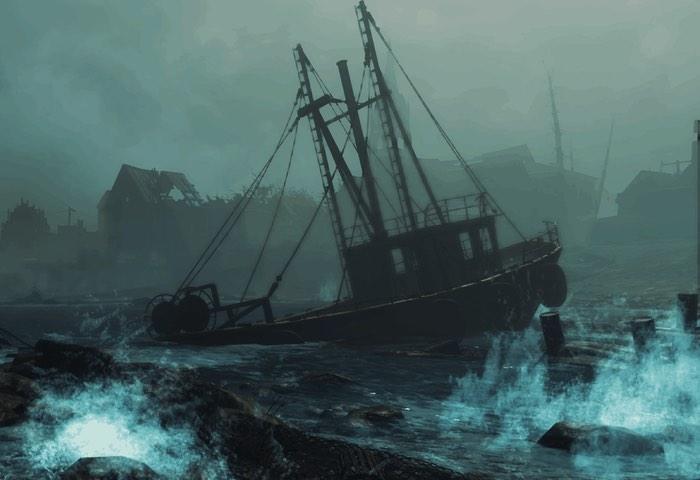 Fallout 4 Far Harbor gameplay