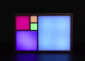Fibonacci Clock Kit Tells The Time Using Colours