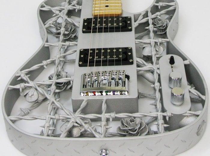 First Aluminium 3D Printed Guitar