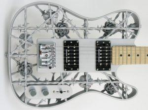 First Aluminium 3D Printed Guitar Unveiled