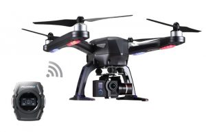 FlyPro XEagle Autonomous Smartwatch Controlled Drone (video)