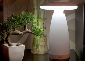Roome Gesture Controlled Smart Lamp Hits Kickstarter (video)