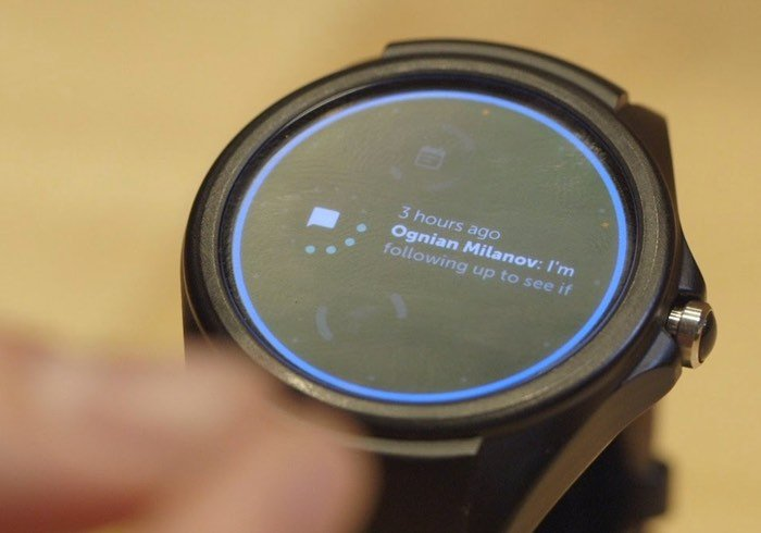 Google Gesture Controlled Smartwatch