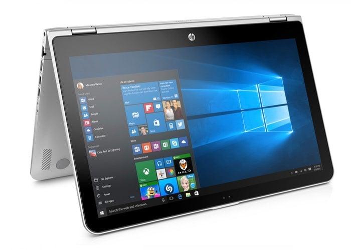 HP Pavilion x360 Hybrid Laptop