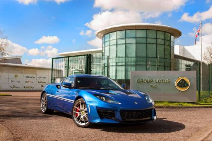 Hethel Edition Lotus Evora 400