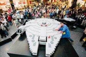 The Worlds Largest Lego Millennium Falcon (Video)