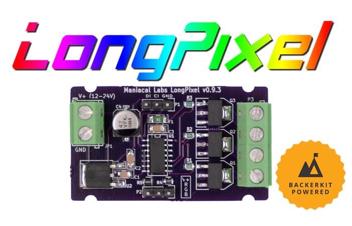 LongPixel Analog LED Strips Digital Controller