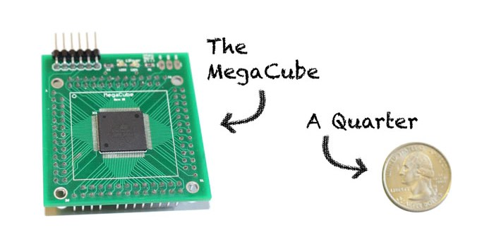 MegaCube Super Small Arduino Mega Clone