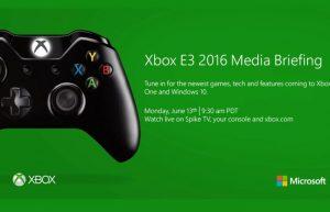 Microsoft Xbox At E3 2016 Details Announced