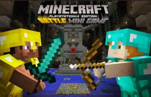 Minecraft Battle Minigame Launches On PlayStation 4 Next Month (video)