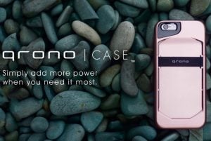 qronoCase Modular iPhone Battery Case (video)