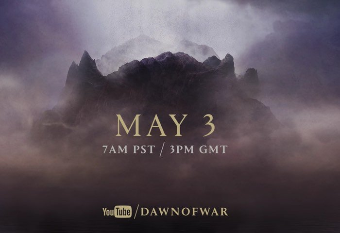 New Dawn Of War Game Announced