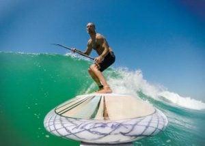 Nosebone GoPro Surfboard Mount (video)