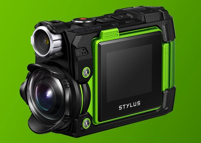 Olympus TG-Tracker 4K Action Camera