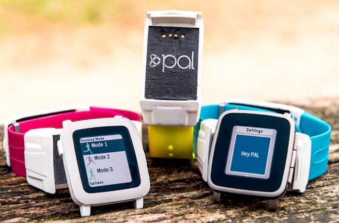 Pal Strap The Pebble Time GPS Battery Strap