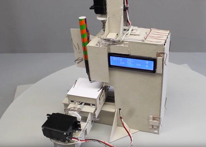 Paper CNC machine