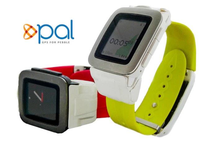 Pebble Time GPS Battery Strap