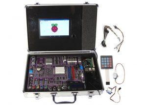RPiKit Raspberry Pi Tutorial Suitcase (video)