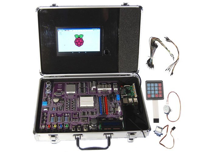 RPiKit Raspberry Pi Tutorial Suitcase