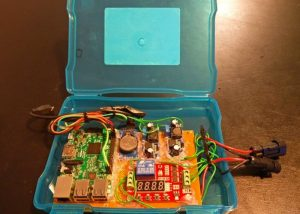 Raspberry Pi 3 Car Dashboard Camera Project (video)