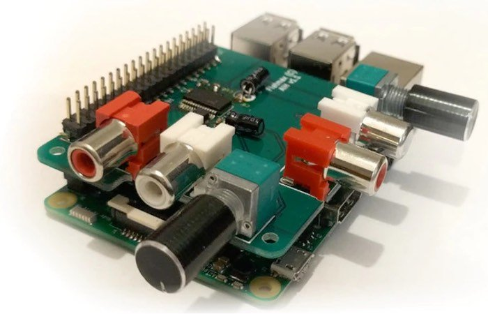Raspberry Pi Audio Injector Sound Card