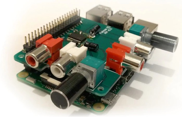 Raspberry Pi Audio Injector Sound Card Hits Kickstarter (video)
