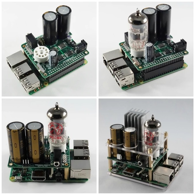 Raspberry Pi Hybrid Tube Amp