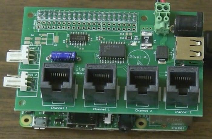 Pixel Raspberry