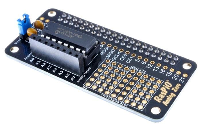 Raspberry Pi Analog Sensors