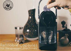 WayCap Refillable Nespresso Capsule Raises Over €180,000 On Kickstarter (video)