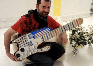 SMOMID Arduino MIDI Guitar Created By Nick Demopoulos (video)