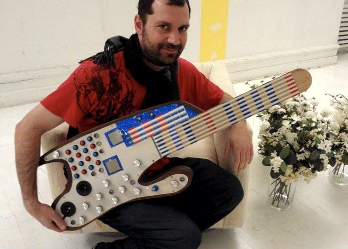 SMOMID MIDI Guitar Powered By Arduino